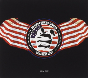 Grand Funk Railroad Greatest Hits Cd + Dvd