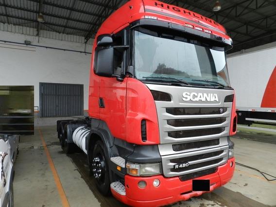 Scania R 420 6x2 2010 Highline