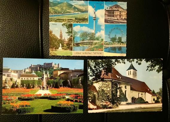 3 Postales De Austria *
