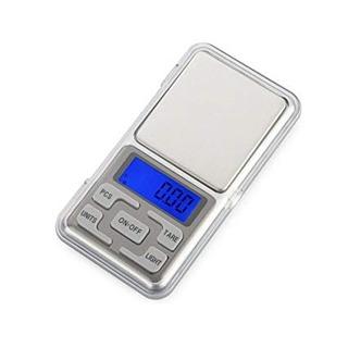 Mini Balanza Digital De Precision Con Luz 0.1 A 1 Kilo