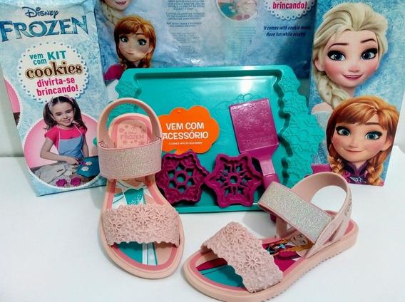 Sandália Sapatilha Infantil Barbie Frozen Ladybug Moana