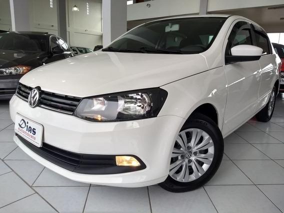 Volkswagen Voyage 1.0 Trendline 8v 2015 Branca Flex