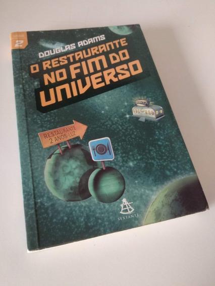 O Restaurante No Fim Do Universo - Douglas Adams_livro