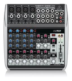 Mezclador Mixer Xenyx Behringer Q1202usb + Garantía