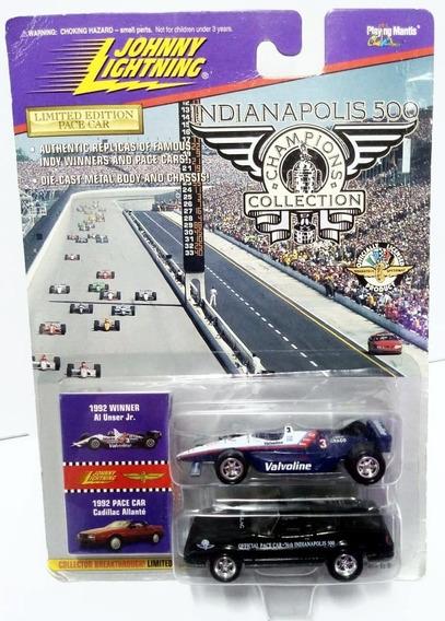 Johnny Lightning Indianapolis Winner Al Unser Jr - 1/64
