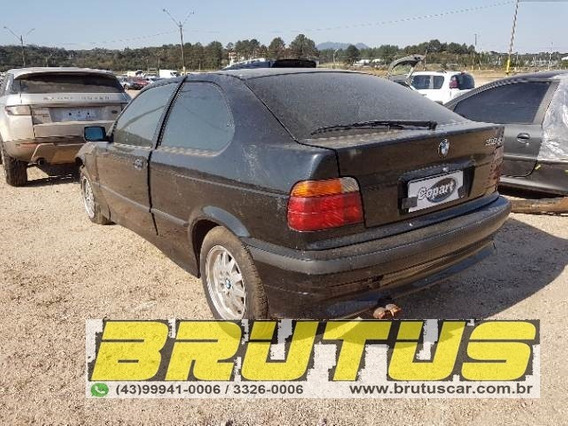 Bmw 318 1995 Sucata Baixada Para Retirada De Pecas