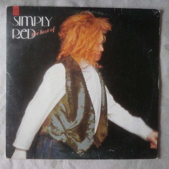 Lp Simply Red The Best Of 1989, Disco De Vinil Com Encarte