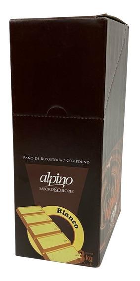 Chocolate Alpino Lodiser X 3 Kg - Ciudad Cotillón Envios Z