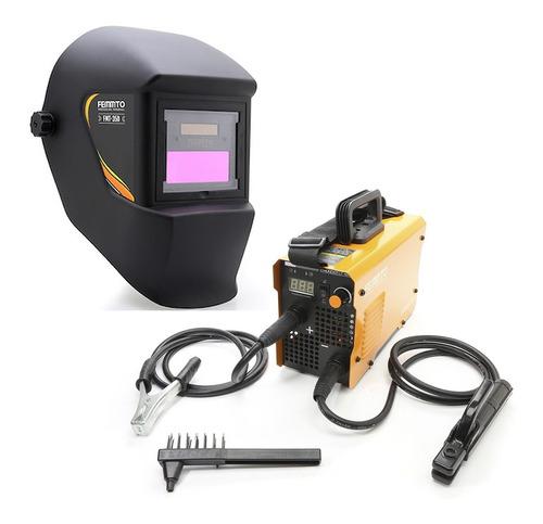 Soldadora Inverter 160a 2 En 1 Tig + Mascara Fotosensible