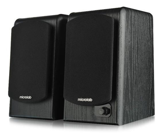 Par De Caixas De Som Microlab B77bt Com Bluetooth