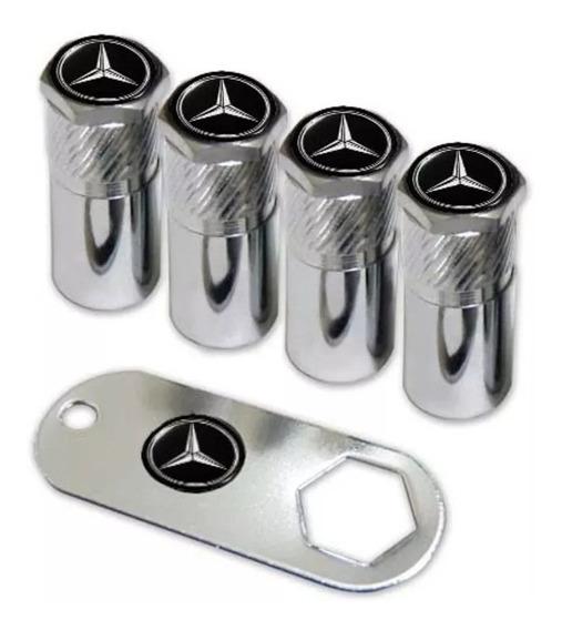 Kit 4 Bicos Pneu Mercedes Benz C180 Gla Cla C250 Acessórios