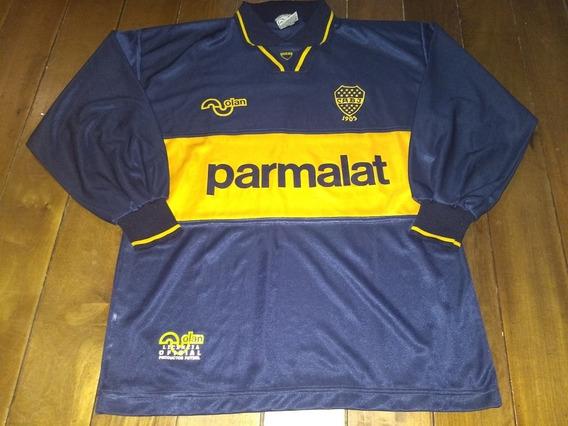 Camiseta De Boca Juniors 1994 Olan Manga Larga Excelente