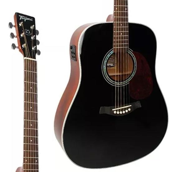 Violão Folk Tagima Woodstock Tw-25 Preto Promoção! Oferta!