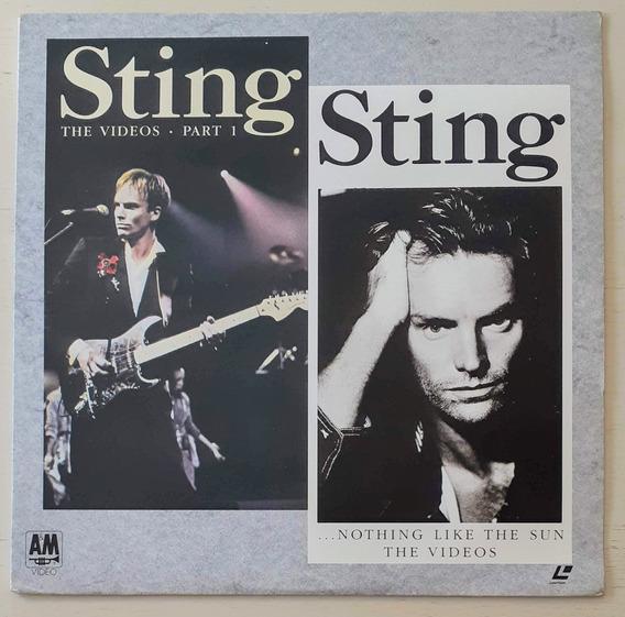 Laserdisc Sting The Videos Part I