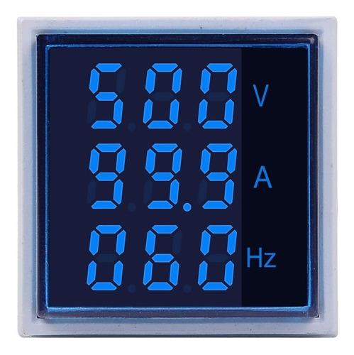 Voltimetro Amperimetro Frecuencimetro 60-500vac 100a St17vah
