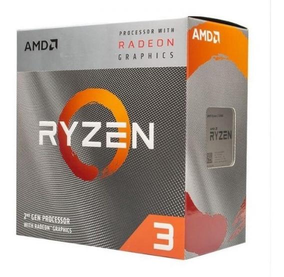 Processador Amd Ryzen 3 3200g - 4c/4t - 4.0ghz - 6mb - Am4