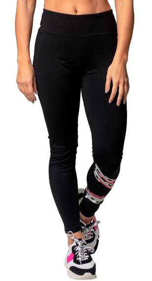 Legging Poliamida Uv50+ Preta Stronger