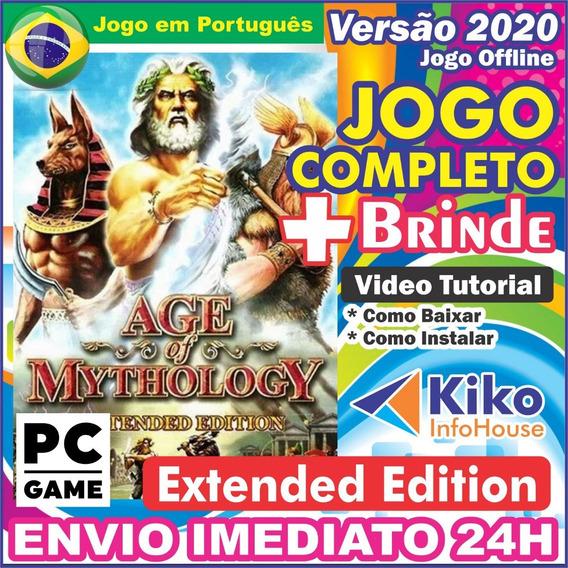 Age Of Mythology Extended Edition - Pc Digital / Br + Brinde