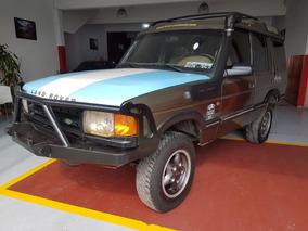 Land Rover 4x4 V8 Nafta/gnc Safari Año 1997 Color Verde