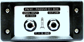 Direct Box Pn M1 Passivo Da Eam Som Profissional