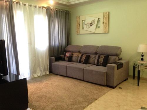 Apartamento No Bairro Planalto Em Sao Bernardo Do Campo Com 03 Dormitorios - V-29869