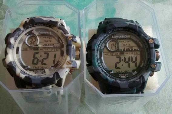 Relógio Militar Camuflado Estilo Russo Kit Com 2 Relógios