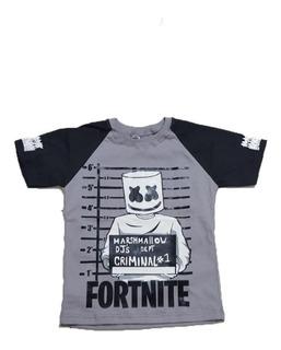 Remera Fortnite Mashmello