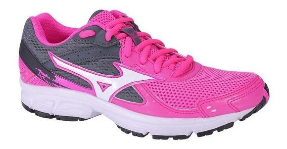 Tênis Mizuno Empower Feminino Running E Corrida - Rosa Preto