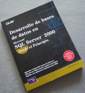 Libro: Desarrollo De Bases De Datos En Sql Server 2000