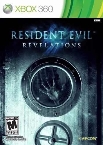 Jogo Resident Evil Revelations Xbox 360 Midia Fisica