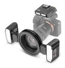 Flash Macro Twin Lite Meike Mk-mt24 Para Câmeras Canon