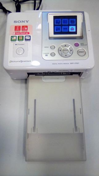 Impressora Fotografica Sony Dpp Fp 67 Usada