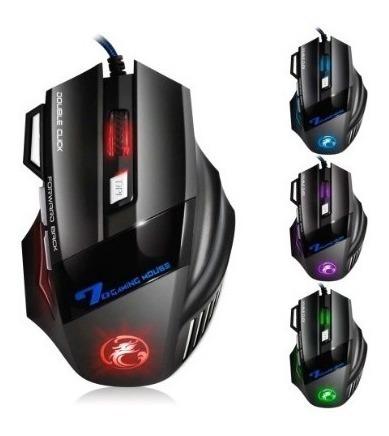 Mouse Gamer Profissional 5500 Dpi Led Óptico Usb - Oferta