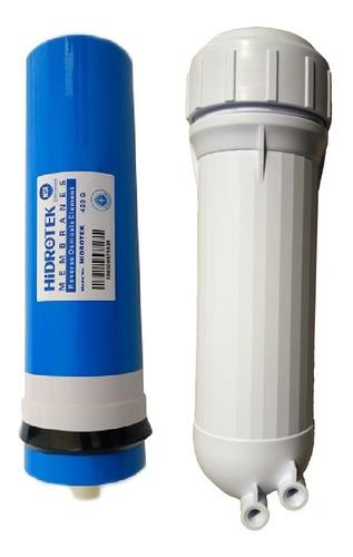 Membrana Ro Osmosis Inversa 400 G Carcasa Para Filtro Agua