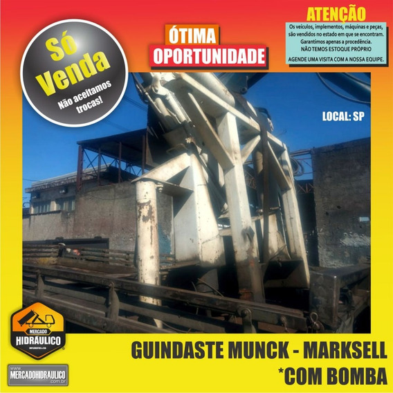 Guindaste Munck - Marksell