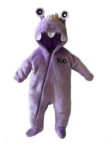 Mameluco Con Gorro Bordado Disney Monsters Boo