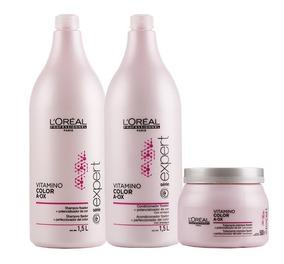 Loréal Kit Profissional Vitamino Aox Color Sh+cond+masc 500