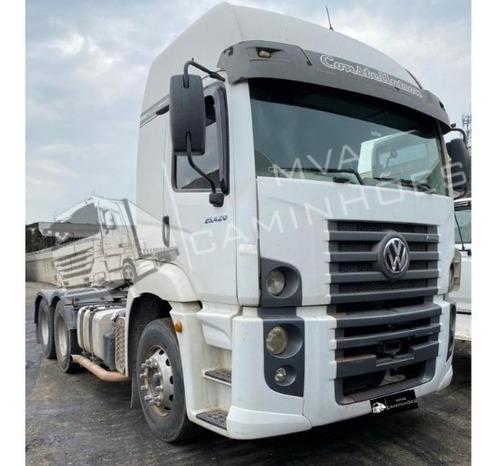 Imagem 1 de 12 de Caminhão Volkswagen 25-420 - 6x2 T