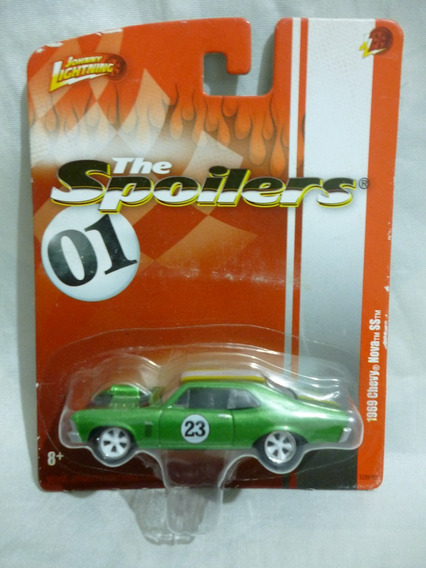 Johnny Lightning 1969 Chevy Nova Ss 2010 - J P Cars