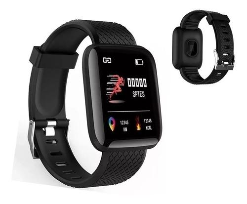 Imagem 1 de 4 de Smart Watch Relógio Inteligente Android  Ios Monitor Saúde