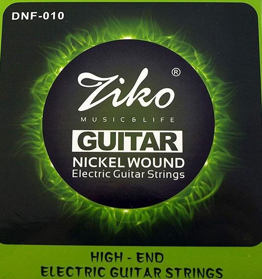 Encordoamento Ziko 0.10 Para Guitarra Pronta Entrega!
