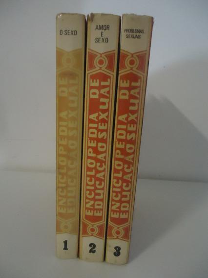 Enciclopédia De Educação Sexual - 3 Volumes - Completa