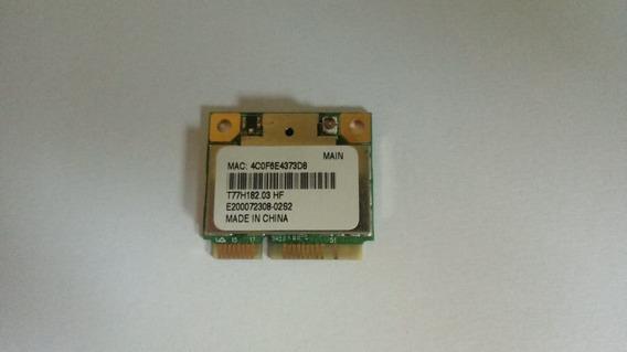 Placa De Rede Wireless Netbook Hp Mini 100e Original