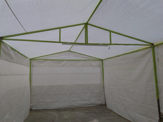 Se Vende Carpa Color Blanco, 8 Por 4. Fiestas, O Eventos