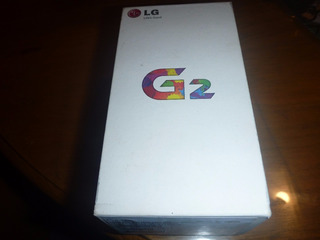 Caja Lg G2 Negro Con Manual Y Sacachip