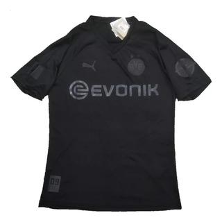 Camisa Do Borussia Dortmund Preta 110 Anos- Pronta Entrega
