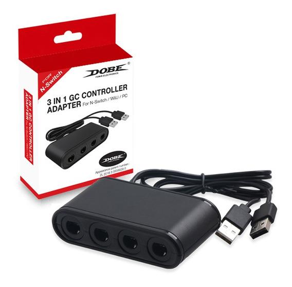 Adaptador Controle De Gamecube Para Nintendo Switch/pc/wii U