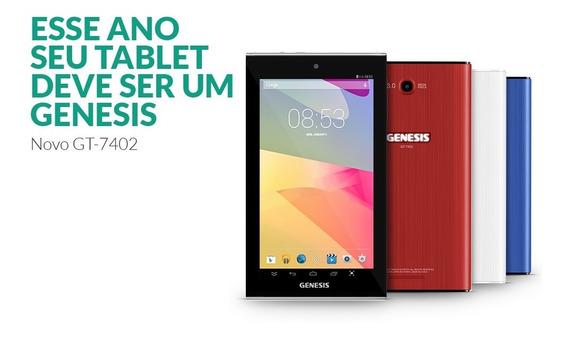 Tablet Genesis Tab Gt 7402 Tela 7 Polegadas Com 8gb Rom