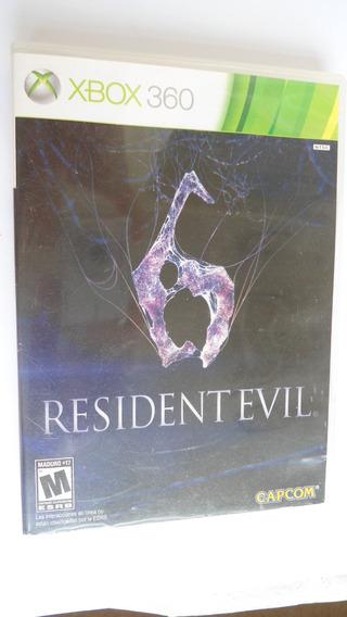 Resident Evil 6 #leia Atenção# Só Disco2 + Encarte Xbox 360