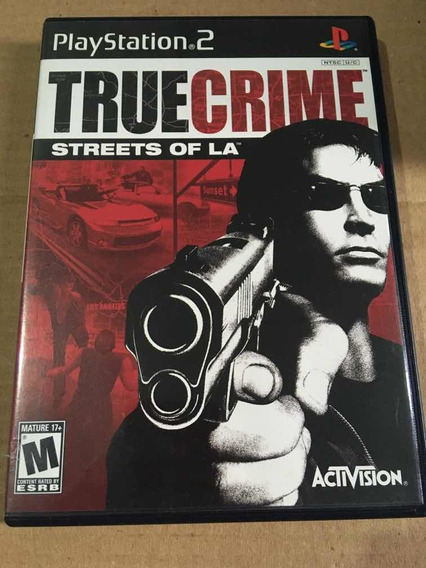 True Crime Streets Of La - Ps2 - Ref 001